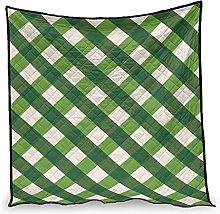 Dessionop Vintage Green Irish Stripes Saint