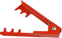 Destabs clip stab remover, leaf removal tool, red