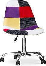Deswick Office Chair - Patchwork Tessa Multicolour
