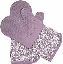 DETA KITCHEN Heat Resistant Silicone Oven Gloves