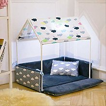 Detachable Dog House Pet Bed Tent Cat Kennel