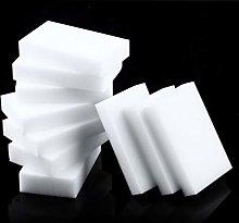 Detectoy 10 Pcs Magic Sponge Eraser Clean Cleaning