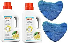 Detergent Solution & Microfibre Cleaning Pads for