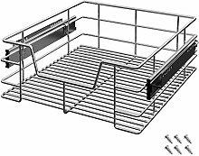 Deuba 1x, 2x, 3x or 4x Pull Out Storage Drawer