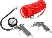 Deuba - Air Compressor Accessories Tool Kit Blow