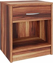 Deuba Bedside Table Nightstand Drawer End Table