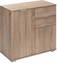 Deuba Cabinet Cupboard Chest Of Drawers Alba