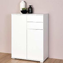 Deuba Cupboard Cabinet Chest Of Drawers Alba