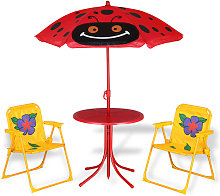 Deuba - Kids Table and Chairs Set Outdoor Patio