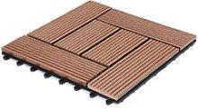 Deuba WPC Decking Tiles Patio Garden Terrace