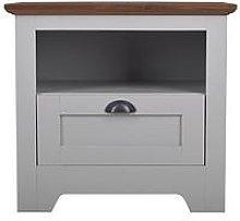 Devon Lamp Table - Grey