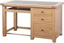 Devonshire Oak Computer Desk/Office Desk Solid Oak