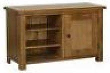 Devonshire Rustic Oak Standard Tv Cabinet