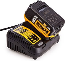 DeWalt 18v DCB184 5ah Battery & DCB115 Fast
