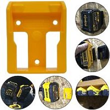 Dewalt 18v XR Flexvolt Battery Mount Yellow Shelf