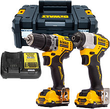 DeWalt DCK2110L2T 12V Brushless Drill Driver and