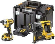 DeWALT DCK2532P2 Twinpack Brushless SDS Drill &