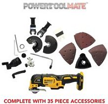 DeWalt DCS355N 18V XR Brushless Multi-Tool with
