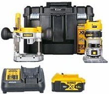 Dewalt DCW604NT 18V Router With Extra Base, 1 x