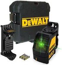 Dewalt DW088CG Green Cross Line Laser Level Self
