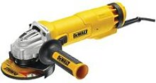 DeWalt DWE4206K 115mm Mini Grinder With Kitbox