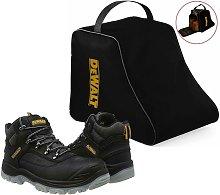 DeWalt Laser Black Safety Work Boots Steel Toecap