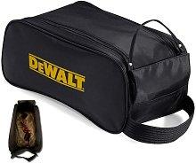 Dewalt Safety Shoe Bag Black + Logo - Heavy Duty