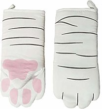 dewdropy Oven Heat Resistant Gloves, Double Oven