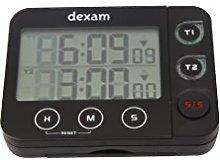 Dexam 17851031 Electronic Kitchen Double Timer &