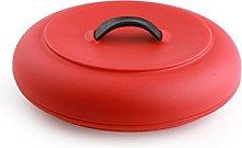 Dexas Microwavable Tortilla Warmer, Red