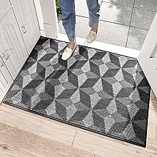 DEXI Dirt Trapper Door Mat,Non-slip Doormat Super