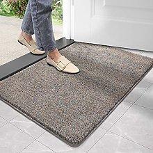 DEXI Doormat Entry Door Mat Indoor Rug Non Slip