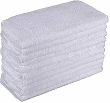 DEYF 10 Terry cloths Steam Towel Cloths Mop Pad