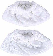 DEYF 2pcs 6.960-019.0 Steam Towel Cloths Mop Pad