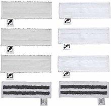 DEYF 3 Microfibre Floor Cloths + 3 Terry Cloth