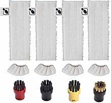 DEYF 4 microfiber floor towels cloth set + 4