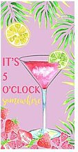 Deyongs 5 O&Rsquo;Clock Somewhere Cotton Velour