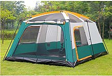 DFBGL 10 Man Spacious Family Tent, Outdoor Camping