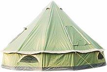 DFBGL Luxury 4M Bell Tent, Tent Yurt 210D Oxford