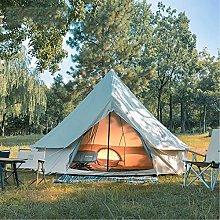 DFBGL Luxury 4M Bell Tent, waterproof double