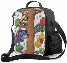 DFGA Lunch Bag Insulated Lunch Box Funny Winnie