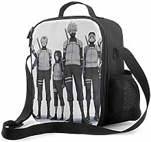 DFGA Lunch Bag Insulated Lunch Box Kakashi Hatake