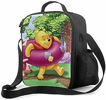 DFGA Lunch Bag Insulated Lunch Box Winnie The Pooh