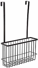 DFGHJ Iron Kitchen Shelf Cupboard Storage Basket