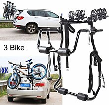 DGDG Car Bike Rack, 3 Bicycle Rear Mount Carrier