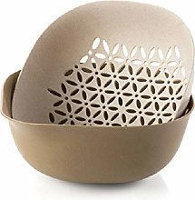DGDHSIKG Drain Basket Double Layer Storage Basket