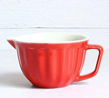 DGDHSIKG Kitchen Bowl Tableware Ceramic Bowl Salad