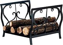 DGHJK Fireplace Screens Compact Firewood Rack Log