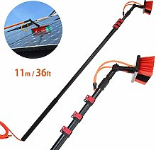 DGPOAD 11m Window Cleaning Pole, Water Fed