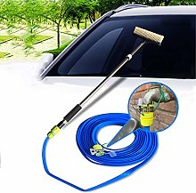 DGPOAD Water Fed Wash Brush 1.4m Telescopic, Car